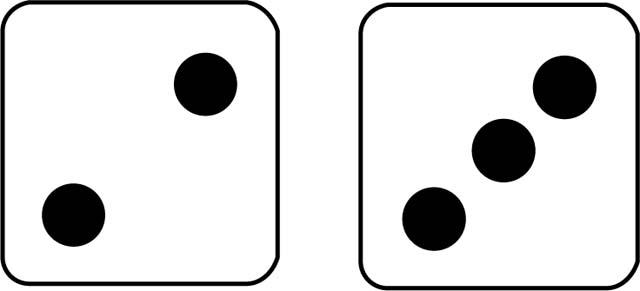 Dice clipart 2 dice, Dice 2 dice Transparent FREE for.