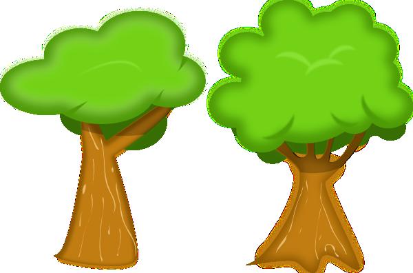 Tree clipart 2 clip art tree clipartcow.