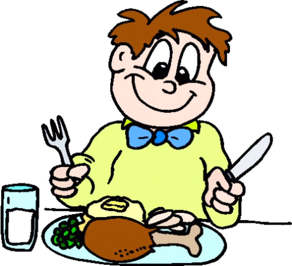 Eating dinner clipart 2 » Clipart Station.