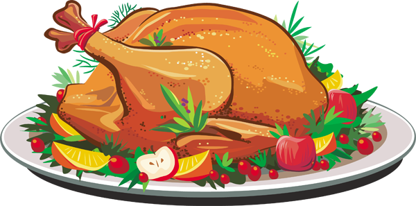 Thanksgiving turkey turkey dinner clipart free clipart.