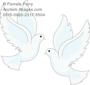 two doves clipart images and stock photos.