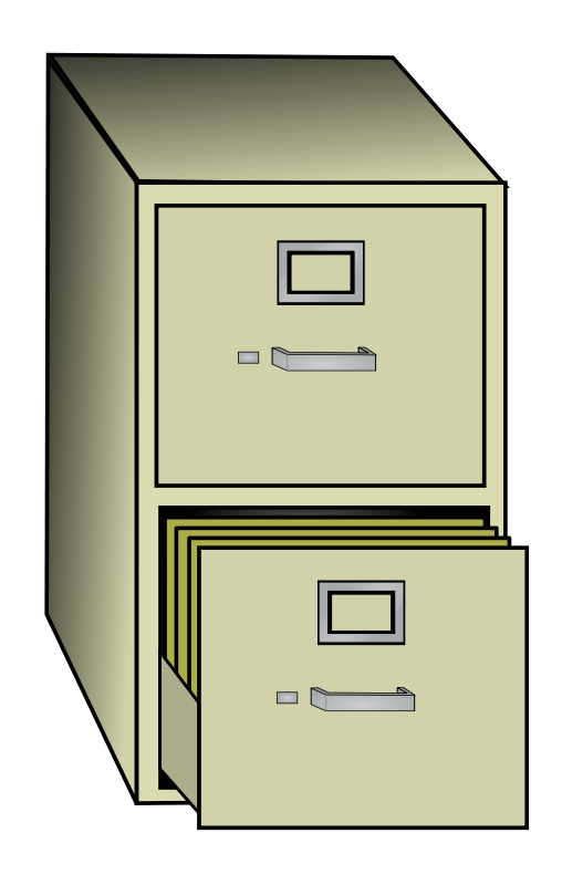 2 drawer file cabinet clipart 10 free Cliparts | Download ...