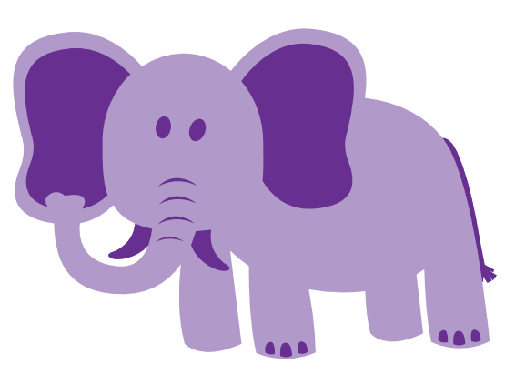 Top elephant clip art images and pictures download free 2 2.