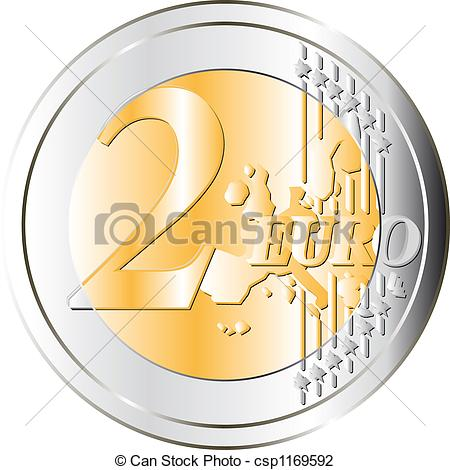 2 euro Illustrations and Stock Art. 196 2 euro illustration and.