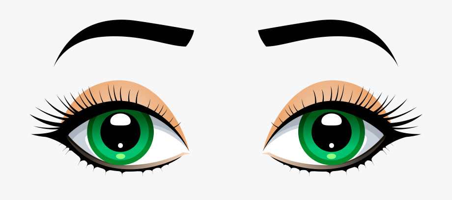 Eyes With Eyebrows Clipart 2 By Rodney.