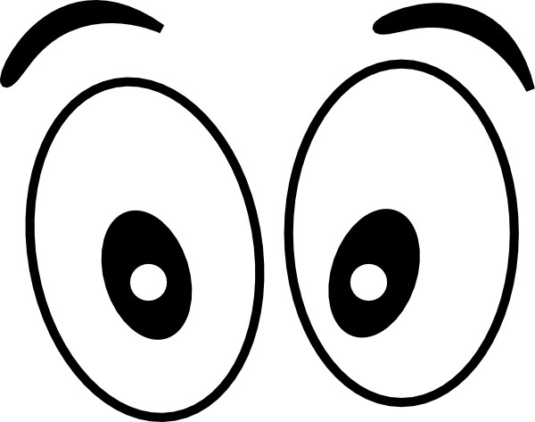9759 Eyes free clipart.