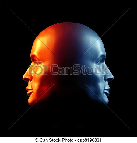 Two faced Illustrations and Clipart. 5,261 Two faced royalty free.