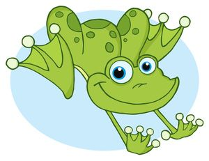 Frog Clip Art Images Jumping Frog Stock Photos Clipart.