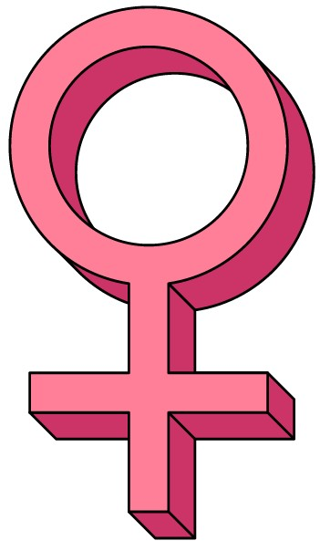Female Symbol 2 Clip Art at Clipart library.