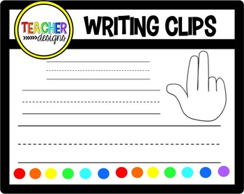 Finger Space Clipart Worksheets & Teaching Resources.
