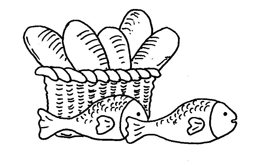 5 Loaves And 2 Fish Clipart.