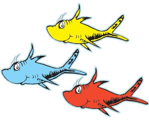 dr seuss hat fish clipart free clip art images image 4 2.