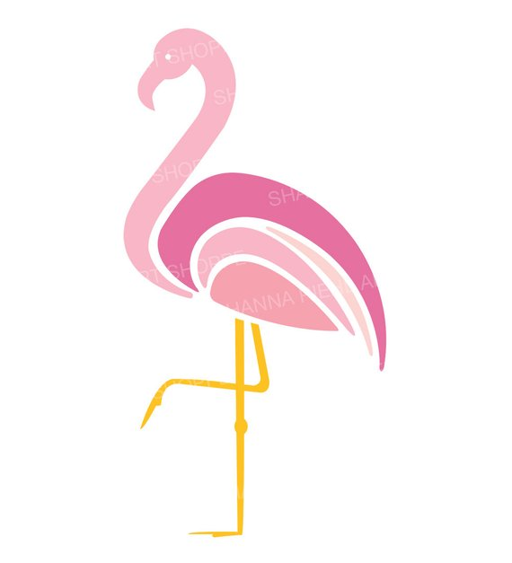 Pink flamingos clipart 2 » Clipart Station.