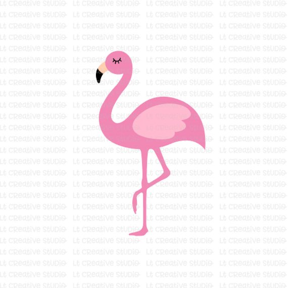 Cute flamingo clipart 2 » Clipart Station.