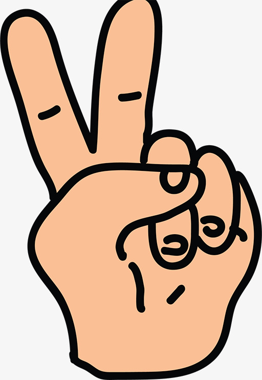 Two Finger Clipart.