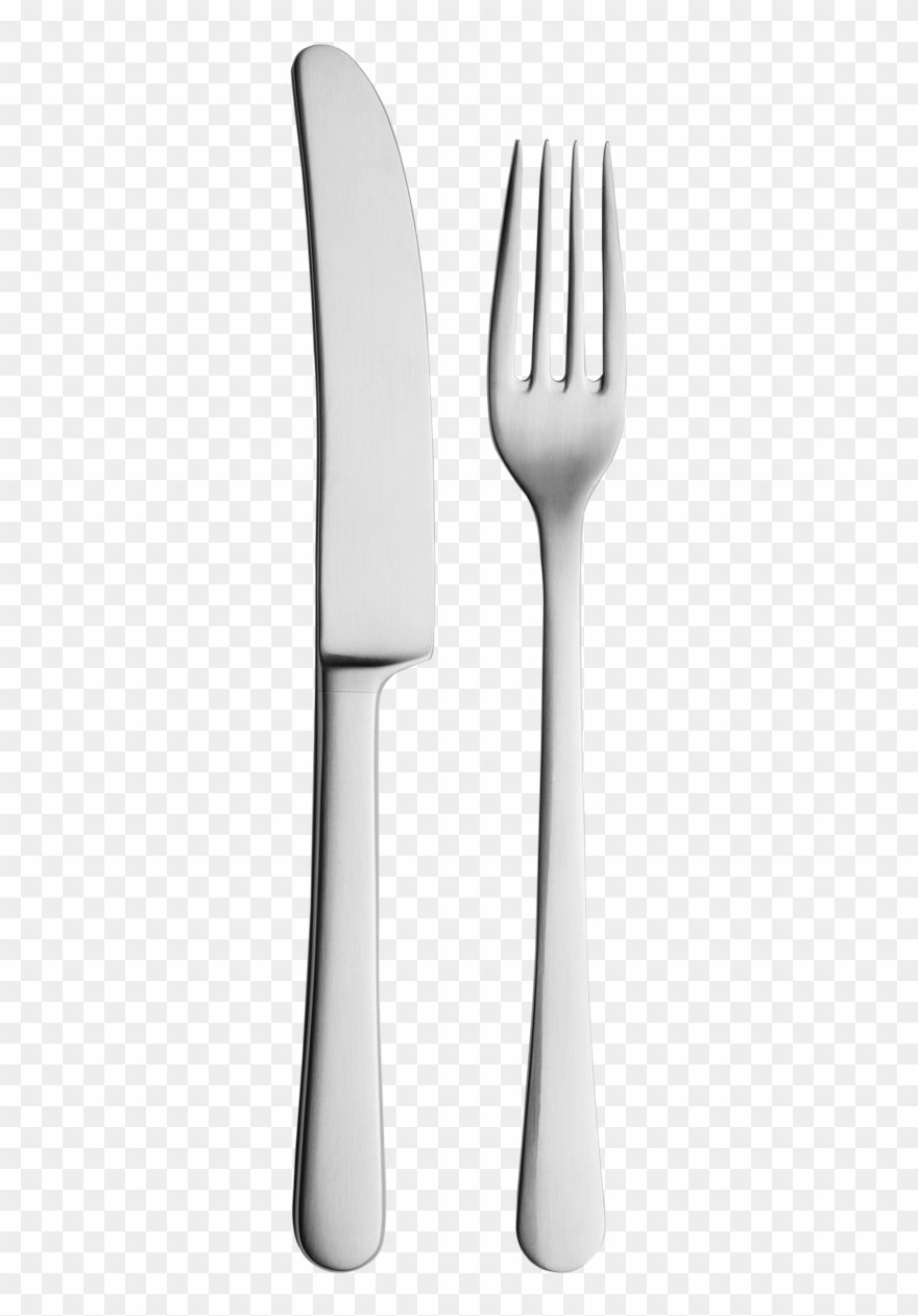 Clipart Of Knife, Fork And 2 Spoon.