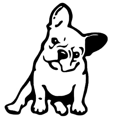 2 french bulldog clipart transparent clipart images gallery.