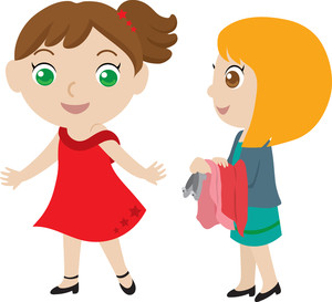 Two friends clipart 2 » Clipart Station.