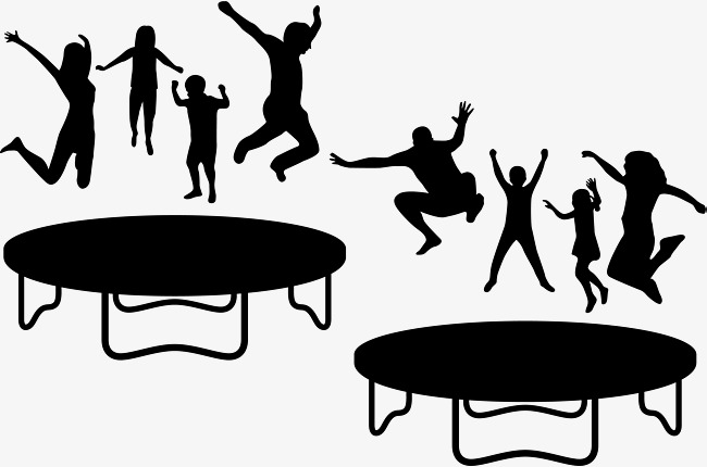 The best free Trampoline silhouette images. Download from 51.
