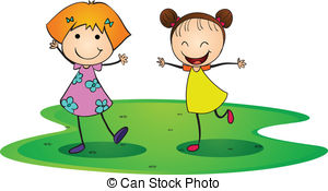 2 girls clipart 4 » Clipart Station.
