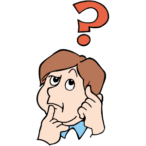 Girl thinking clipart free clip art image 2 image.