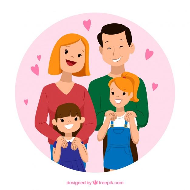 4766 Parents free clipart.