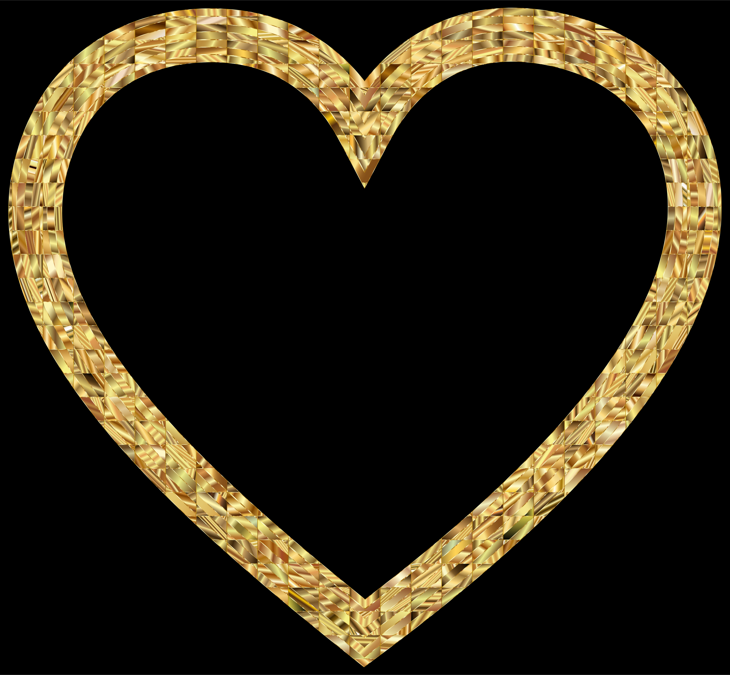 2 gold hearts clipart 10 free Cliparts | Download images ... (2400 x 2218 Pixel)