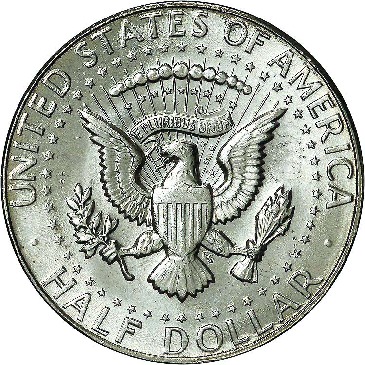 1970 D 50C MS Kennedy Half Dollars.
