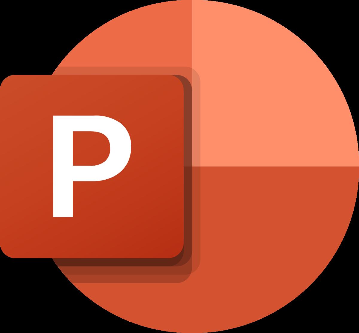 Microsoft PowerPoint.