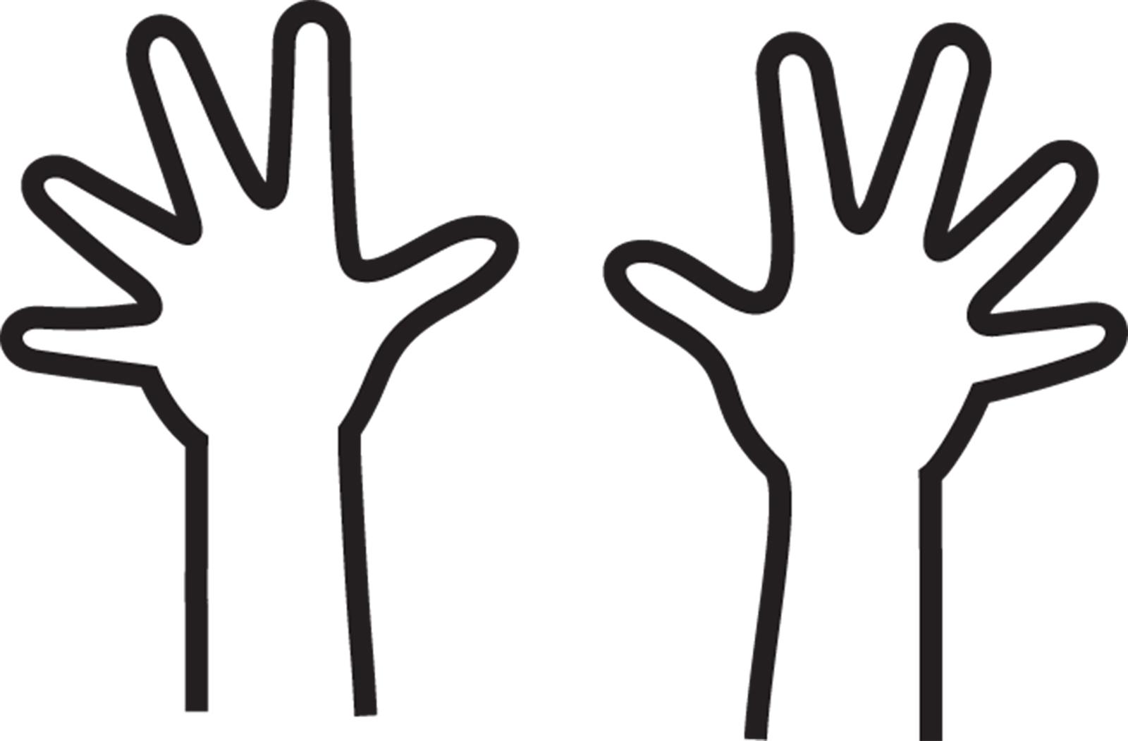 Hands Outline.
