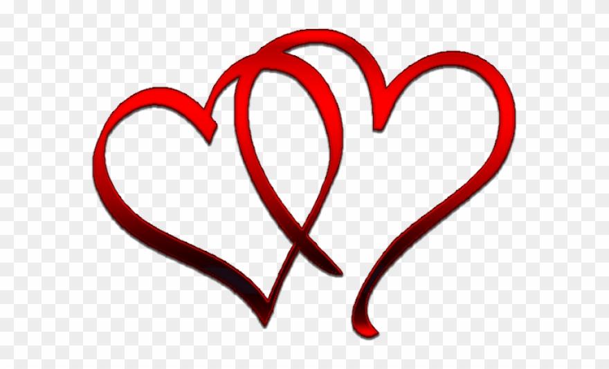 Valentine`s Day Clipart Couple Massage.