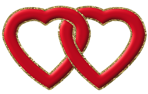 Two Heart Clipart Png.