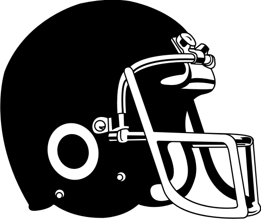 Football helmet drawing front view free clipart 2.