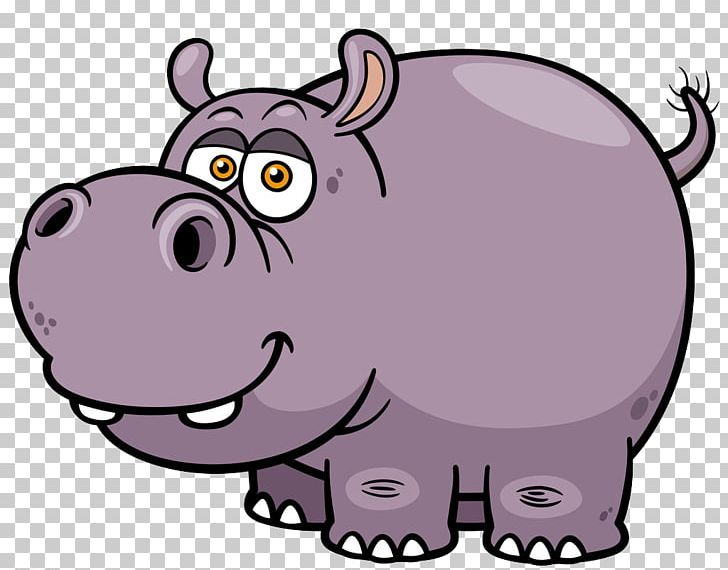 Hippopotamus Cartoon PNG, Clipart, Animals, Balloon Cartoon.