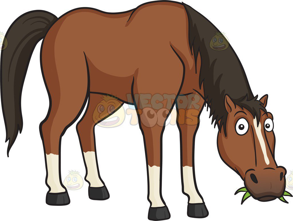 Cartoon horses clipart 2 » Clipart Portal.