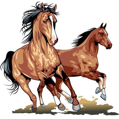 Horses running clipart 2 » Clipart Portal.