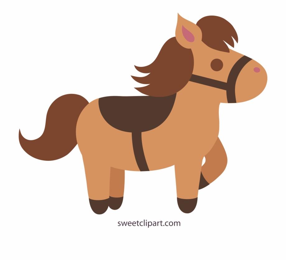 Cute Brown Horse 2 Clip Art Sweet Png.