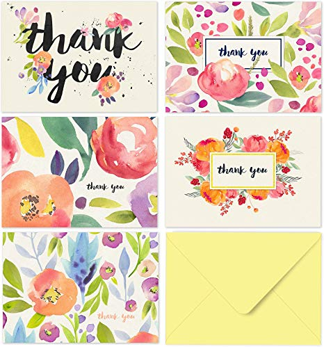 40 Thank You Cards with Envelopes.