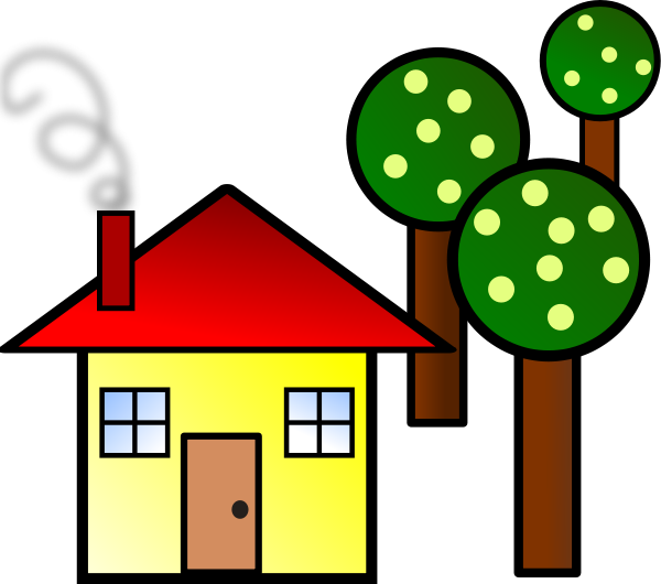 Clipart houses 2.