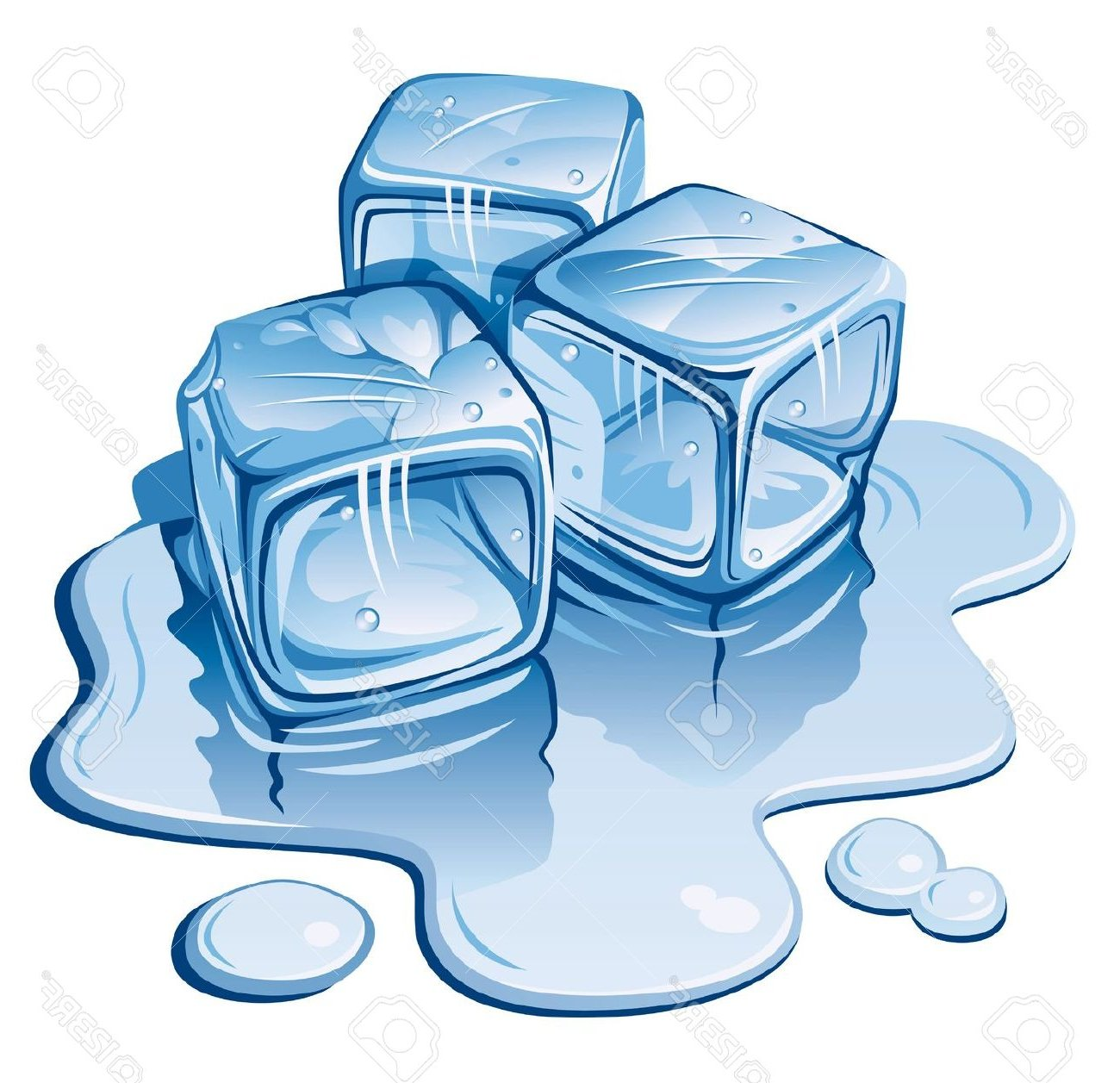 Ice cubes clipart 4 » Clipart Station.