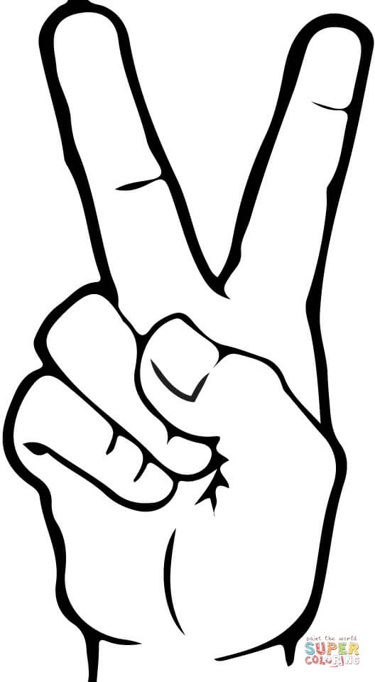 Library of 2 in asl picture black and white download png.