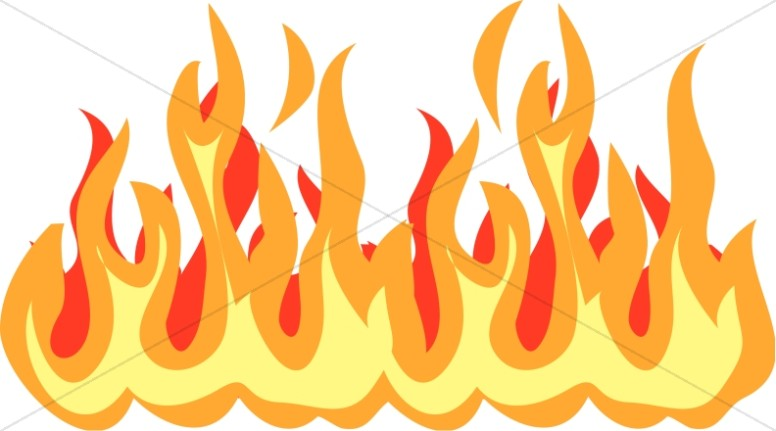 Flames clipart 2 » Clipart Station.