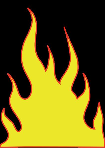Flames clip art 2.