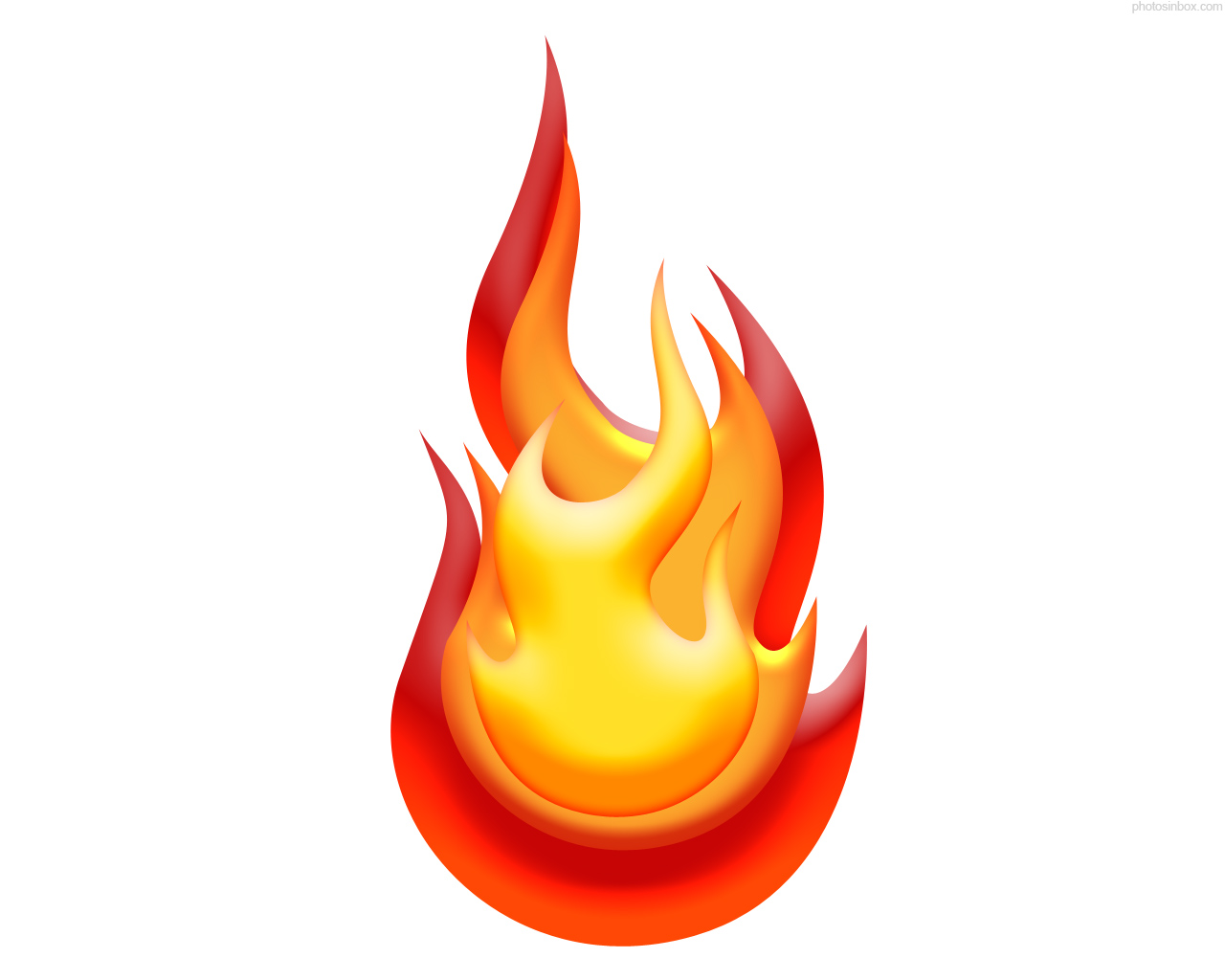 Clipart flames of fire images 2.