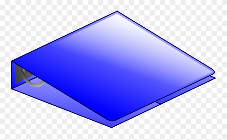 Clipart Blue Ring Binder Png Microsoft Office Clipart.