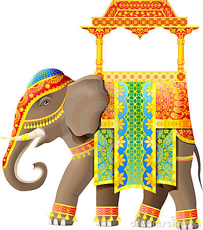 Indian elephant clip art free clipart images 2.