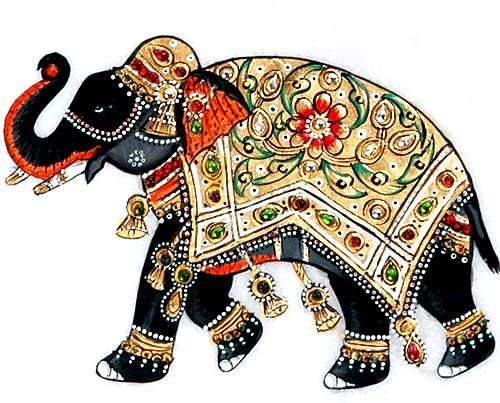 The Great Indian Elephant.