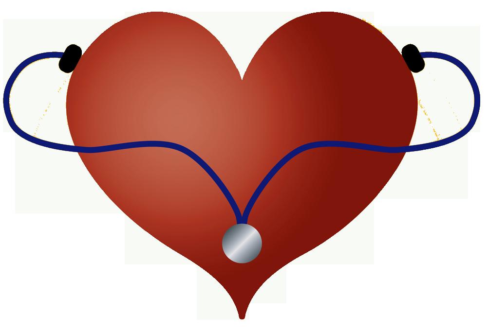 Stethoscope heart clipart kid 2.