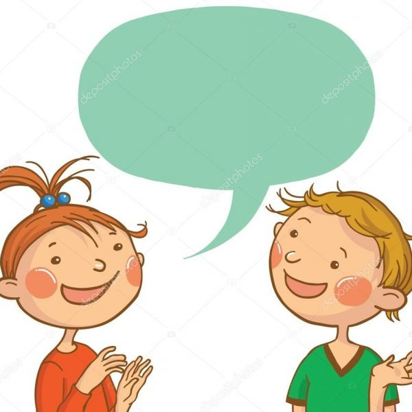 Kids talking clipart 2 » Clipart Station.