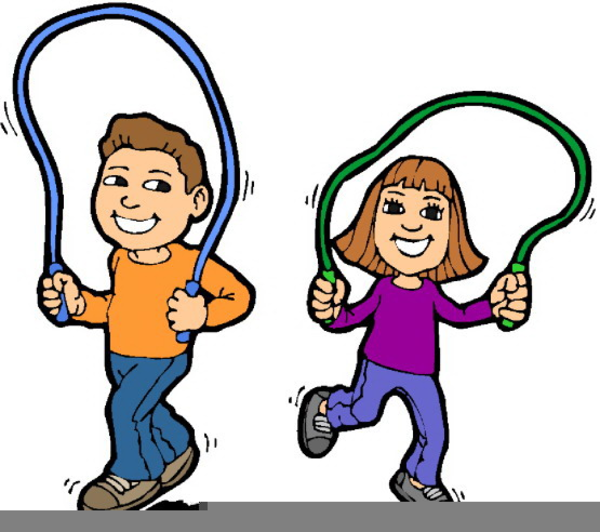 Free Clipart Of Kids Playing Outside.